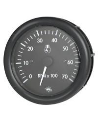 Compte-tours GUARDIAN 7000 RPM 2/4 temps 12V noir-noir