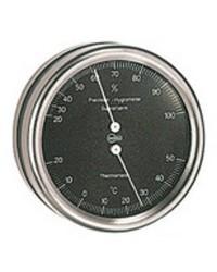 Thermomètre/Hygromètre Barigo Orion noir/inox