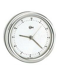Horloge Barigo Orion blanc/inox