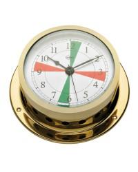 Horloge BARIGO Star doré + radiosecteurs