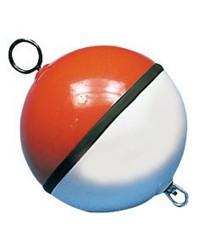 Bouée en ABS bicolore blanc/rouge 70cm