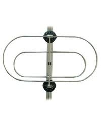 Porte pare-battage repliable 30x16cm x2