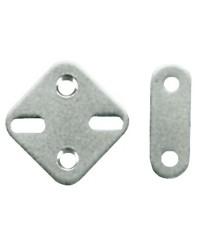 Plaque inox 44x44mm pour 37.175.81