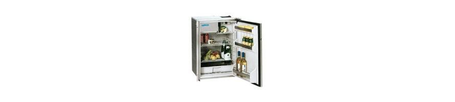 Réfrigérateur porte frontale pour bateau