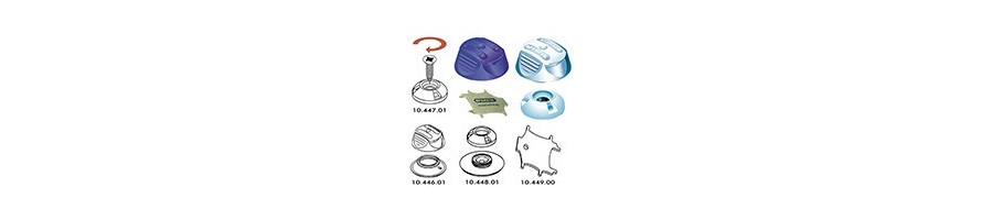 Bouton pression plastique Perfix
