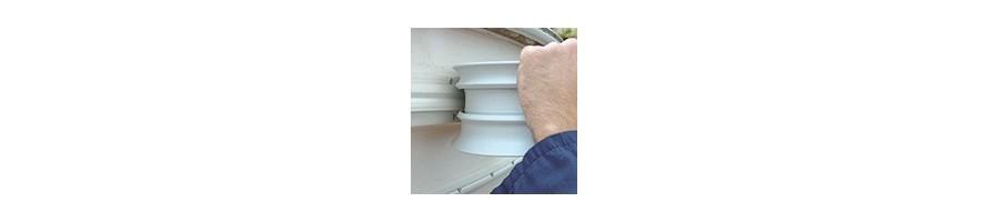 Liston PVC Radial 5 tailles différentes