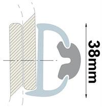 Profil liston duralène B osculati